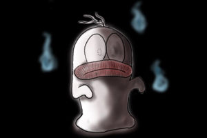 幽霊を見る方法