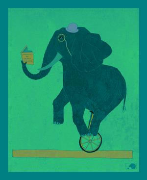 elephant+riding+unicycle+100dpi