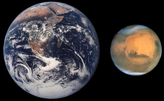 火星をテラフォーミングするために、地球と同じ公転軌道に人工衛星で引っ張ってくるのは「アリ」なのか?