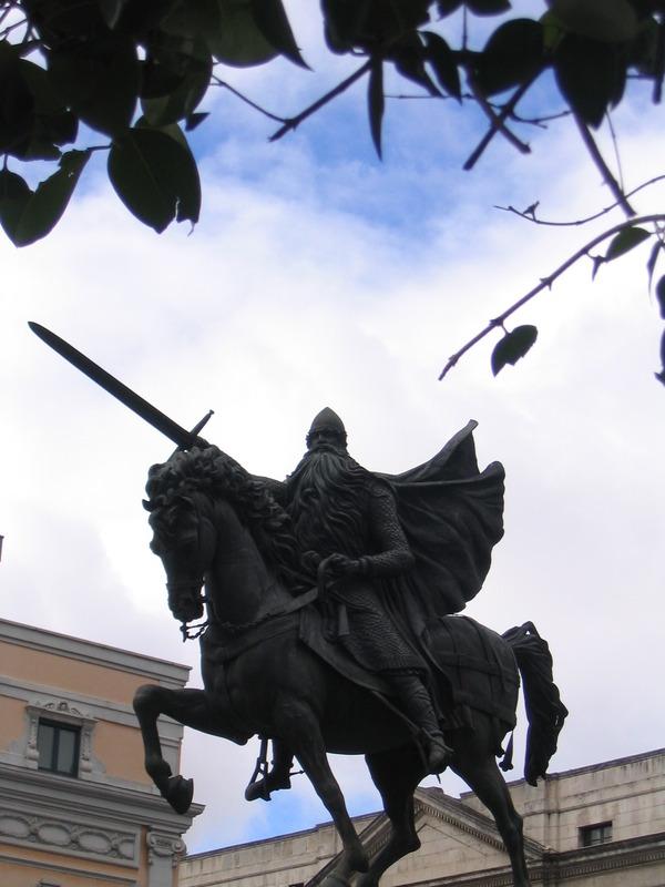 Burgos-Estatua_del_Cid