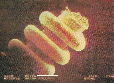 ロシアで発見された超極小の金属部品