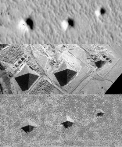 火星のピラミッド