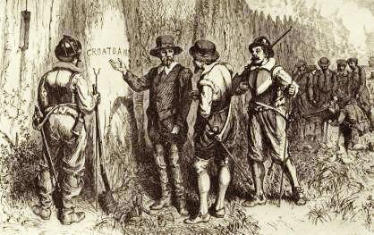 ロアノーク植民地集団失踪事件