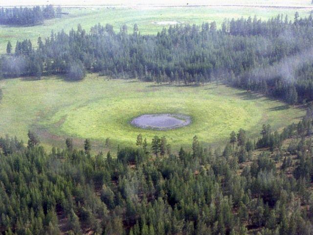 永久凍土地帯