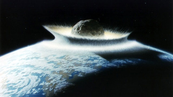 南極に隕石