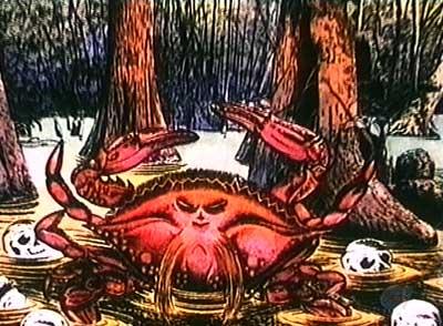 ゲゲゲの鬼太郎のEDのワタリガニ