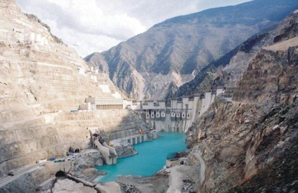 Deriner-Dam