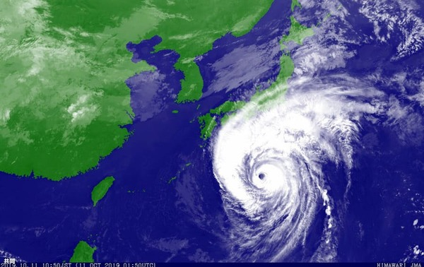 台風19号で浸水、妻の目の前で夫が「世話になったな」と言い残し泥水に沈む