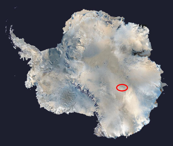 LakeVostok-Location