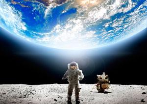 NASA月面