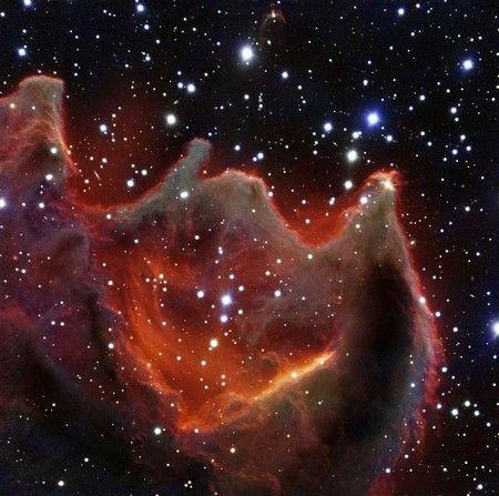 宇宙の「神の手」 の撮影に成功