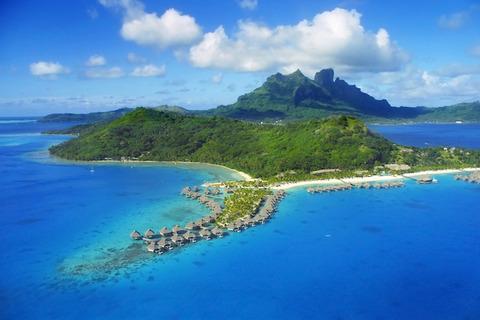 【3位】 ボラボラ島/フランス領ポリネシア