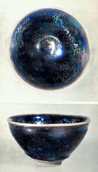 Temmoku_tea_bowl_Fujita_Bijutsukan