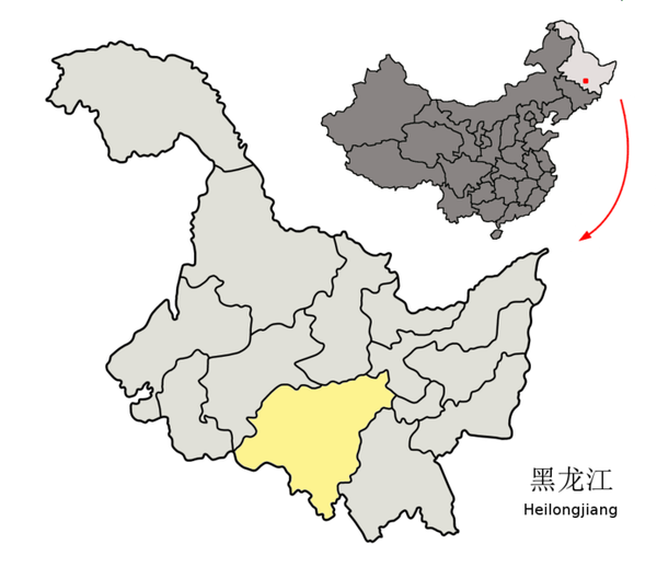 694px-Location_of_Harbin_Prefecture_within_Heilongjiang_(China)