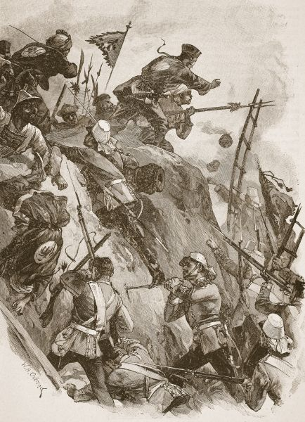 Opium_Wars,_storming_of_the_Taku_Forts_by_British_troops,_1860