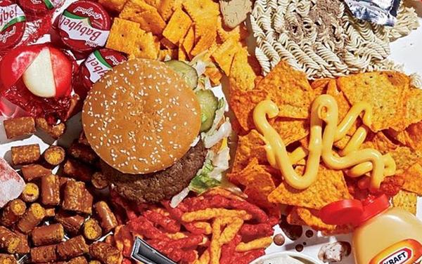 添加物満載の食事