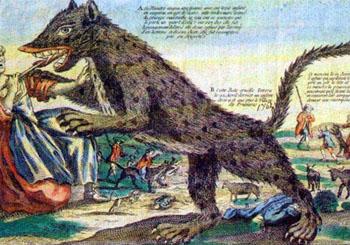 ジェヴォーダンの獣