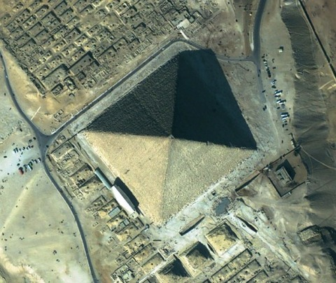 ピラミッドが8面体
