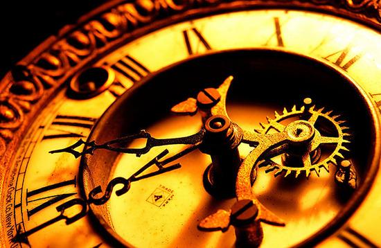 時間の反対