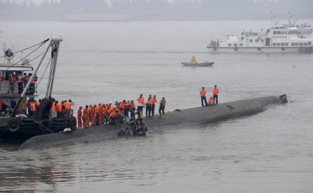 中国沈没船