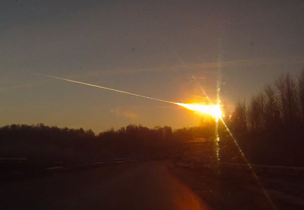 ロシアの隕石