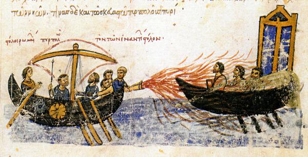 ギリシア火薬