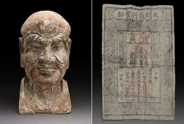 8-Ming-Dynasty-banknote-inside-statue