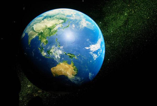 地球がまわる