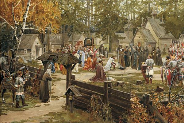 中世ヨーロッパのこういう生活風景が好きなんだが→