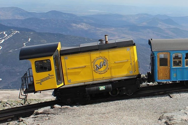 The-historic-Mount-Washington-Cog-Railway