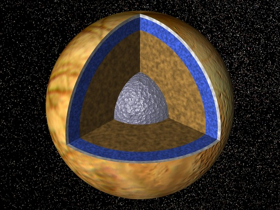 エウロパ 断面図