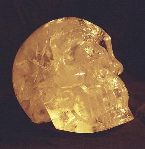 水晶のドクロ