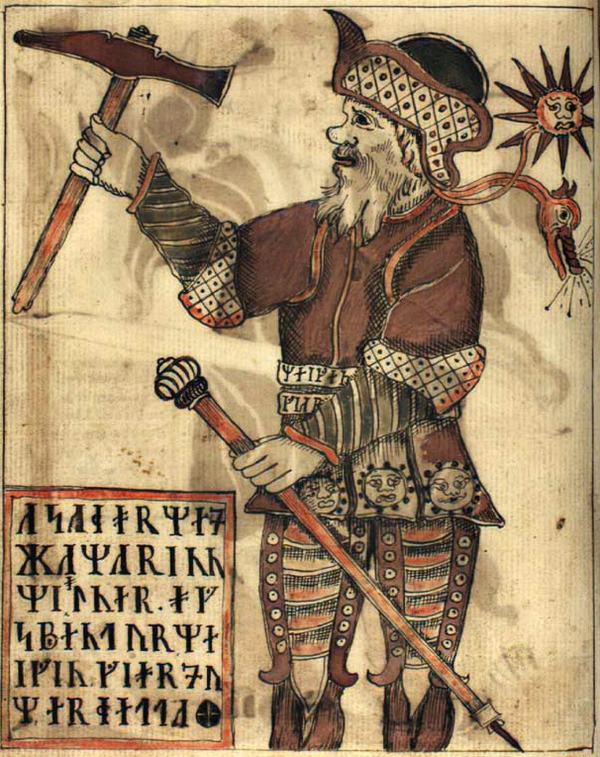 NKS_1867_4to,_94v,_Thor
