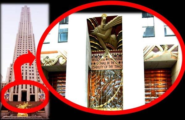 Triptych-facade