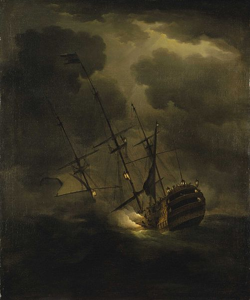 501px-HMS_Victory_sinking