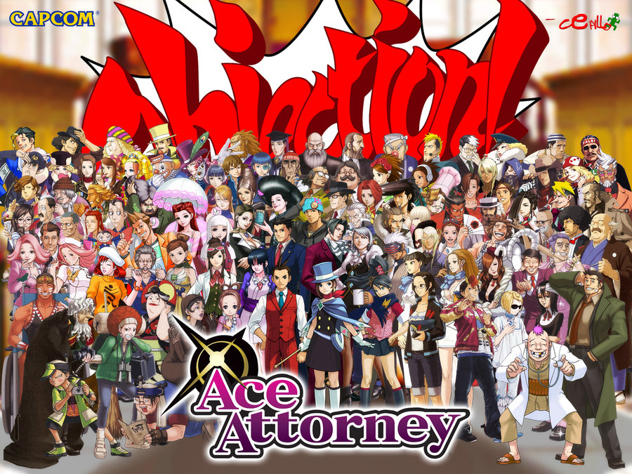 逆転裁判の登場人物の一覧 - List of Ace Attorney characters ...