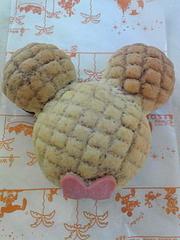 ミッキートーストメロンパン