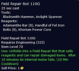 Repairbot110G