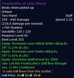 Ahune-Staff