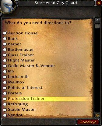 Ask Direction
