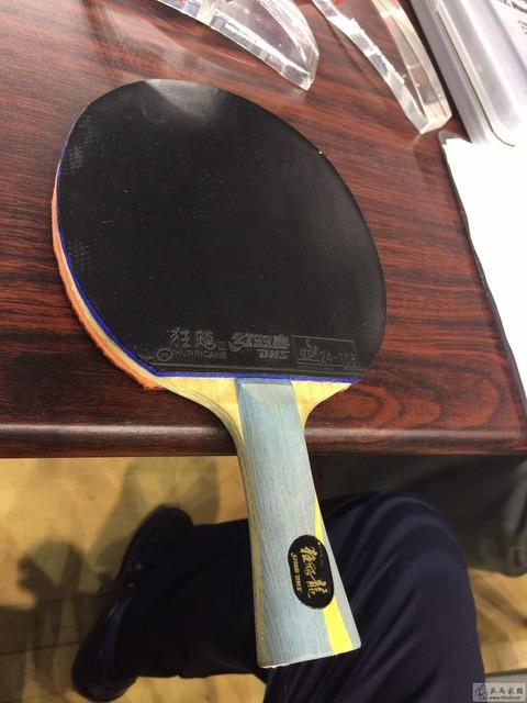 【ぐっちぃ】馬龍選手が両面キョウヒョウの前の状態のラケット!やっぱりかっこよすぎます! ぐっちぃの卓球活動日記【wrm】