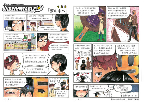 UNDER THE TABLE第9話-35号-