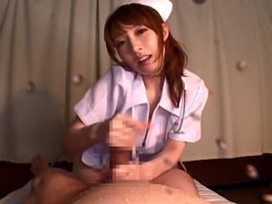 抵抗できない患者チンポに赤玉出るまで淫語手コキ責め続ける痴女ナース 芦名未帆