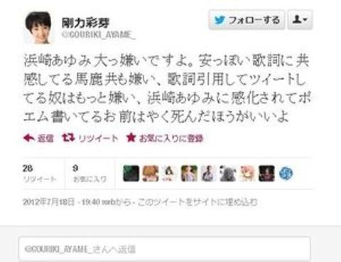 剛力彩芽公式twitter