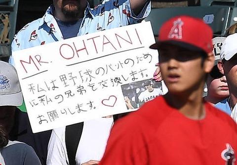 大谷のファンの日本語