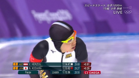 小平、銀メダル01