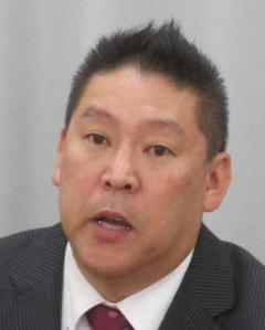 コロナ感染の立花孝志氏が退院を報告「やっぱりコロナは風邪」「経済を止めるレベルではない」