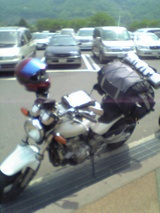 バイク荷物