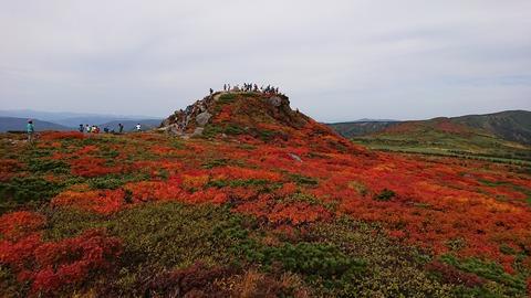 20190928三ツ石山の紅葉1
