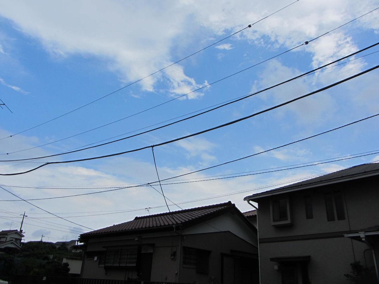 110803 02  家を出る時に、TVでピンポーン「気象情報」が出てきまして、「横浜市川崎..
